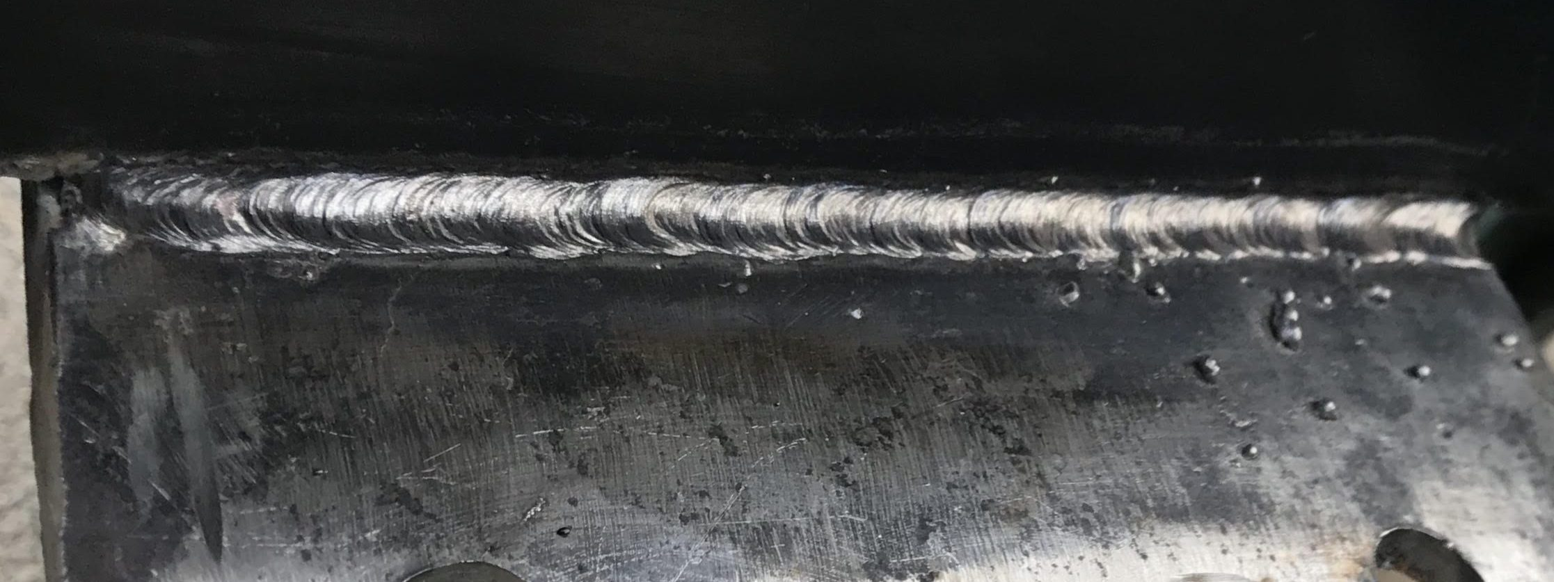 Stick Welding Bead